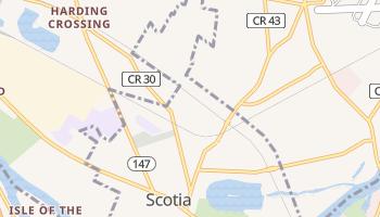Scotia, New York map
