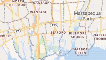 Seaford, New York map