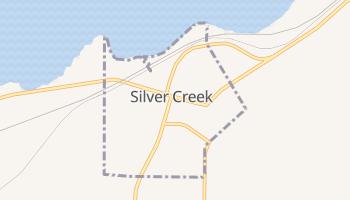 Silver Creek, New York map