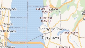 Sleepy Hollow, New York map