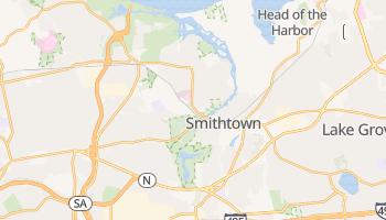 Smithtown, New York map