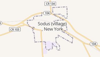 Sodus, New York map