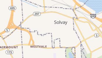 Solvay, New York map