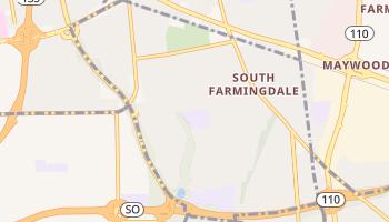 South Farmingdale, New York map