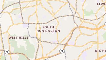 South Huntington, New York map