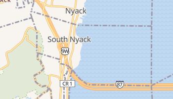 South Nyack, New York map