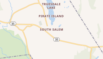 South Salem, New York map