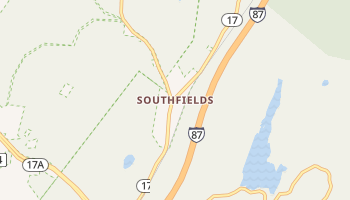 Southfields, New York map