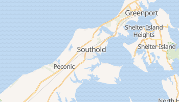 Southold, New York map