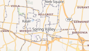 Spring Valley, New York map