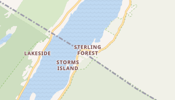 Sterling Forest, New York map