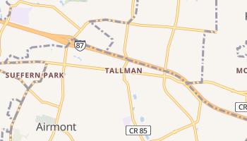 Tallman, New York map