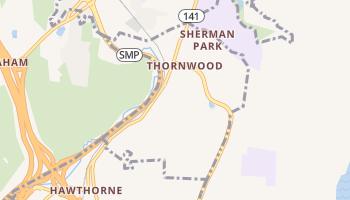 Thornwood, New York map