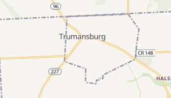 Trumansburg, New York map