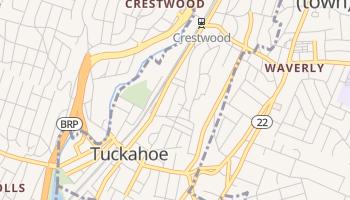 Tuckahoe, New York map