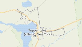 Tupper Lake, New York map