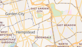 Uniondale, New York map