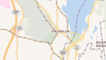 Valhalla, New York map