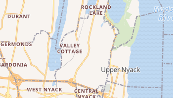 Valley Cottage, New York map