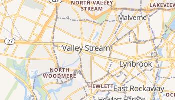 Valley Stream, New York map