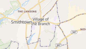Village of the Branch, New York map