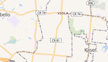 Viola, New York map