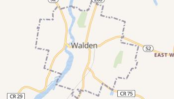 Walden, New York map