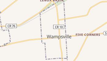 Wampsville, New York map