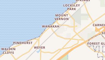 Wanakah, New York map