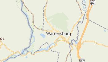 Warrensburg, New York map
