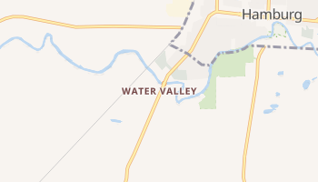 Water Valley, New York map