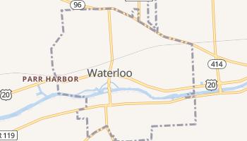 Waterloo, New York map