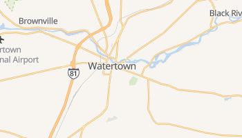 Watertown, New York map