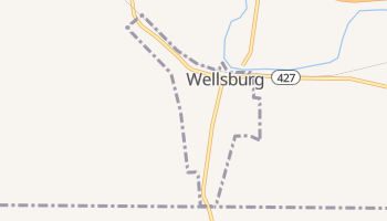 Wellsburg, New York map