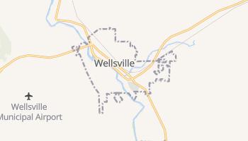 Wellsville, New York map