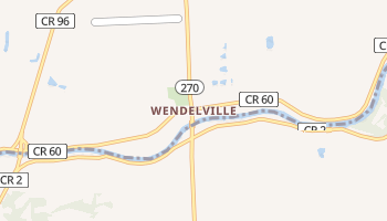 Wendelville, New York map
