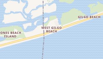 West Gilgo Beach, New York map