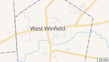 West Winfield, New York map
