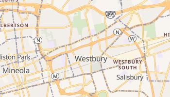 Westbury, New York map