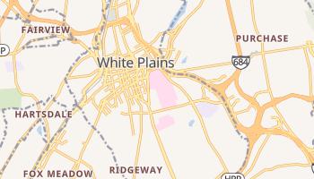 White Plains, New York map