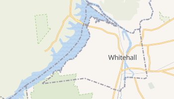Whitehall, New York map