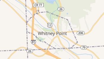 Whitney Point, New York map