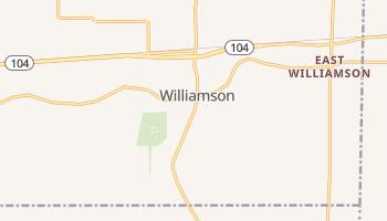 Williamson, New York map