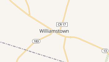 Williamstown, New York map