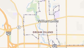 Williamsville, New York map