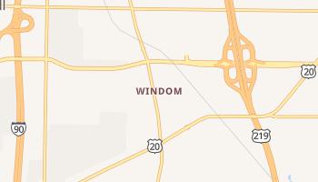 Windom, New York map