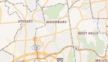 Woodbury, New York map