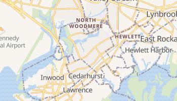 Woodmere, New York map