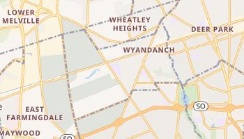 Wyandanch, New York map