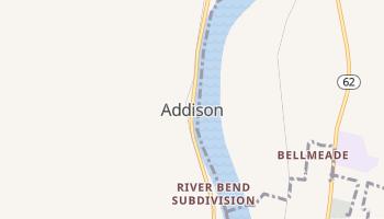 Addison, Ohio map